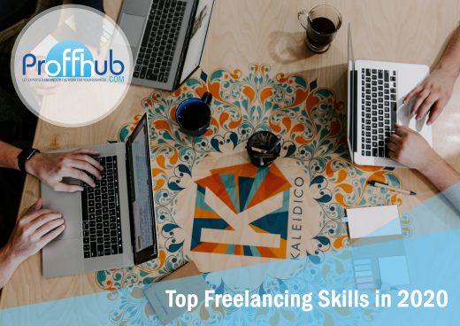 Proffhub Artwork Top Freelancing Skills