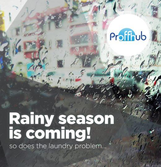 Rainy season is coming
