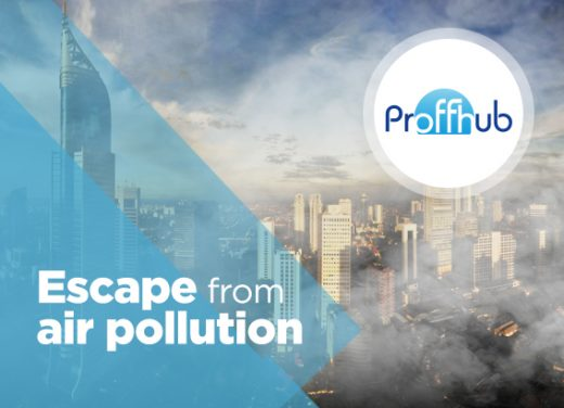 Proffhub escape from air pollution